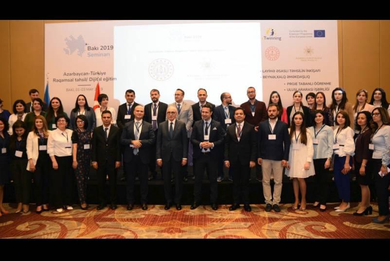 "21-23 May 2019ç Bilateral seminar on ""Digital Education"" between Azerbaijan and Turkey"