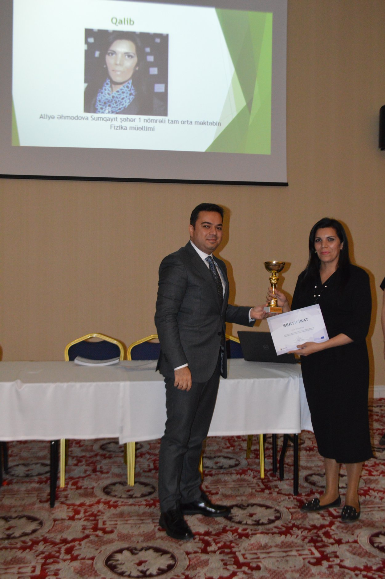 eTwinning Plus Azerbaijan held the first Local Competition