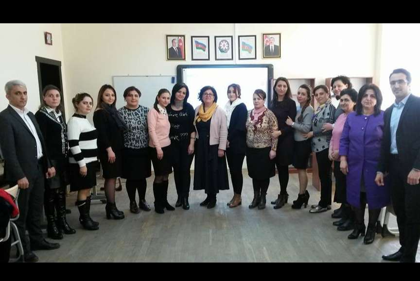 eTwinning Plus Azerbaijan held trainings in the regions