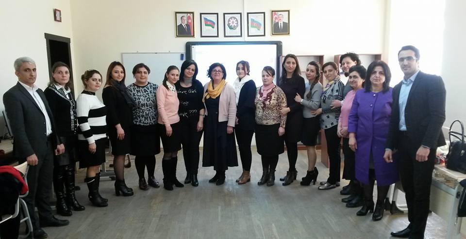 eTwinning Plus Azerbaijan held trainings in the regions