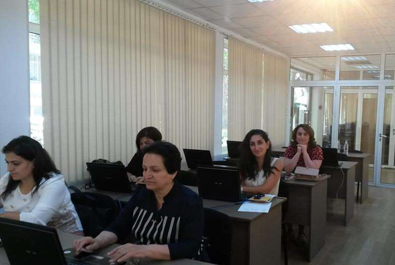 eTwinning Plus Azerbaijan helds trainings for newly registered teachers