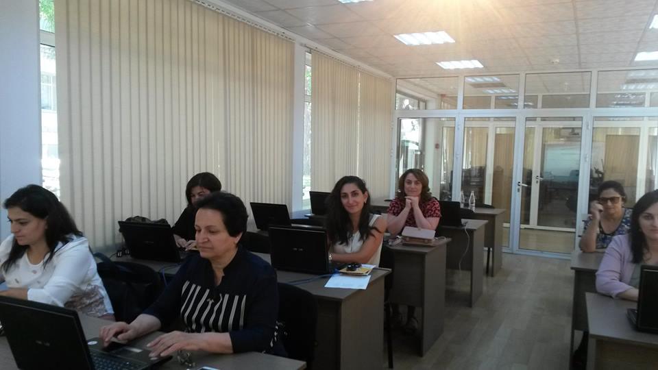 eTwinning Plus Azerbaijan helds trainings for newly registered teachers