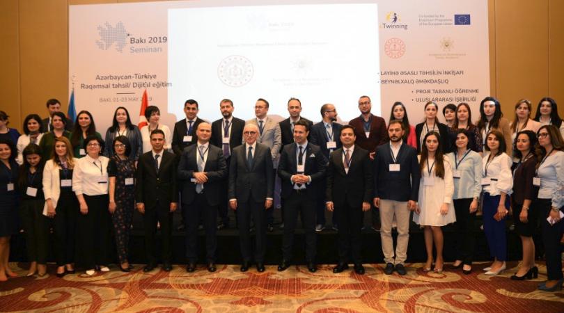 "eTwinning Azerbaijan and eTwinning Turkey held a Contact Seminar – ""Digital Education"" in Baku"