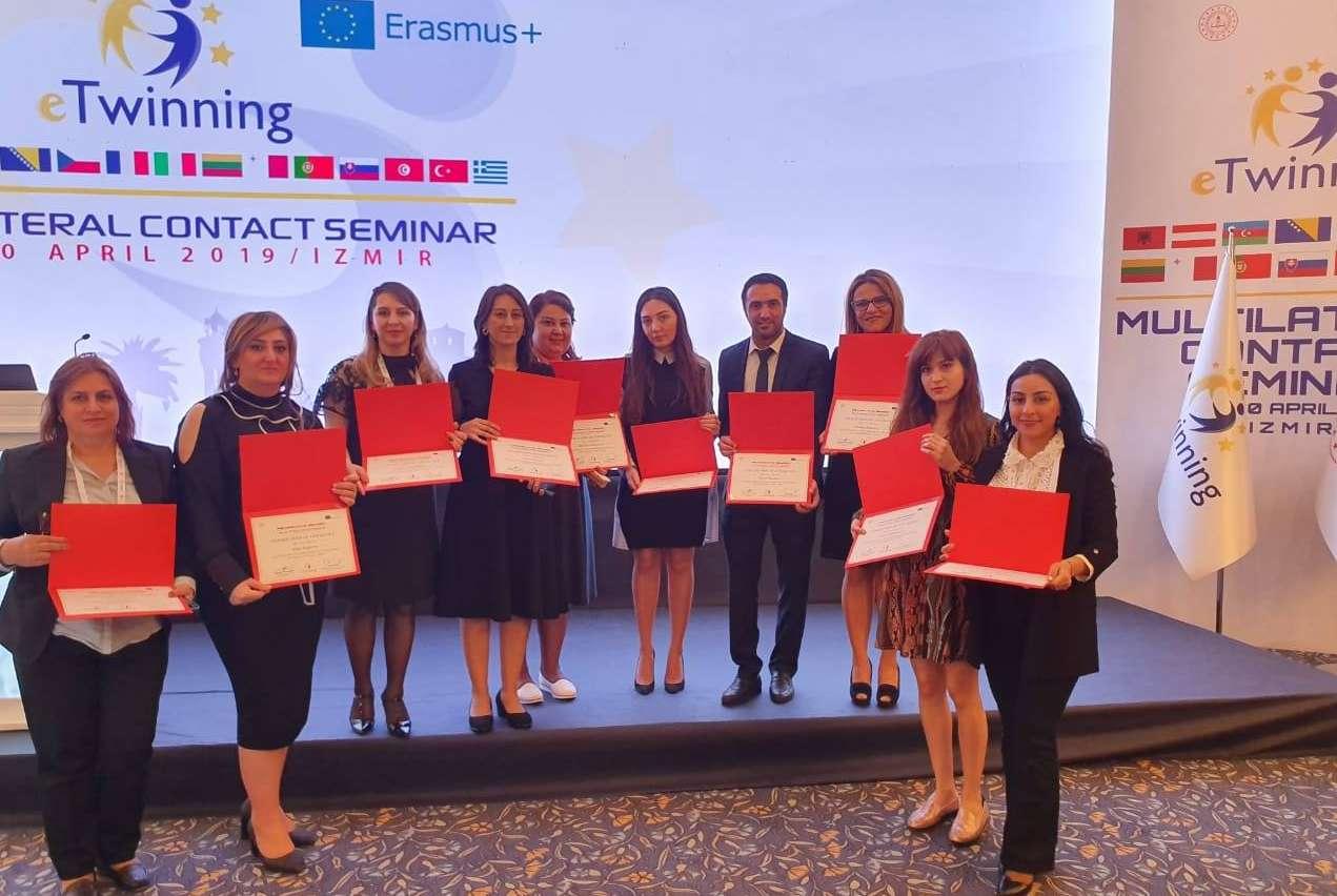 10 Azerbaijani teachers were sent to Turkey for the Contact Seminar
